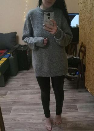 Базовый шерстяной свитер