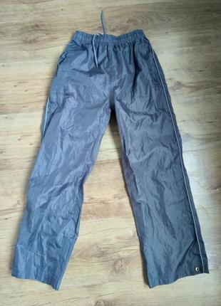 Спортивні дитячі штани дощовик спортивные детские штаны дождевик