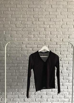 Темнобордова сексі блуза 💔