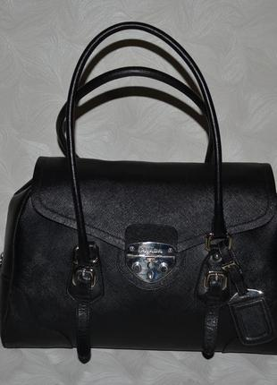 Кожаная сумка prada, оригинал