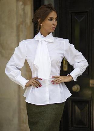 Роскошная белая блуза от great scot