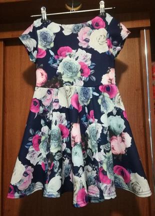 Очень красивое платье на 4-5 лет e-vie angel