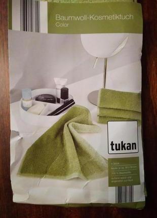Набор косметических полотенец tukan, 30*30 см, 4 штуки