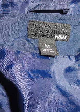 Синяя куртка плащ ветровка5