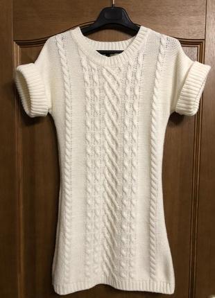 Вязаное платье oodji