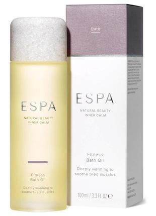Фитнес-масло для ванн espa fitness bath oil 100 мл
