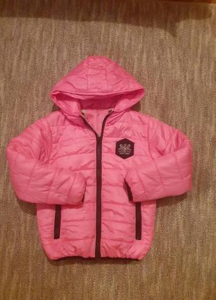 Весняна курточка на дівчинку