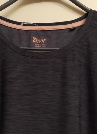 Новая футболка crivit sports