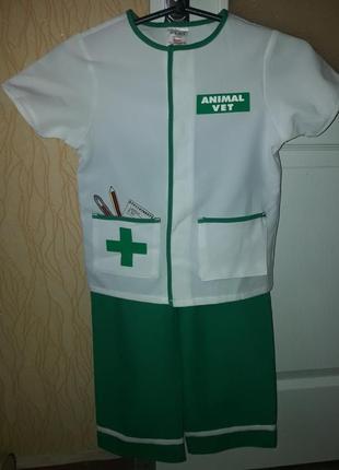Карнавальный костюм врача, ветеринара