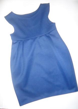 Платье - сарафан - бочонок школьный