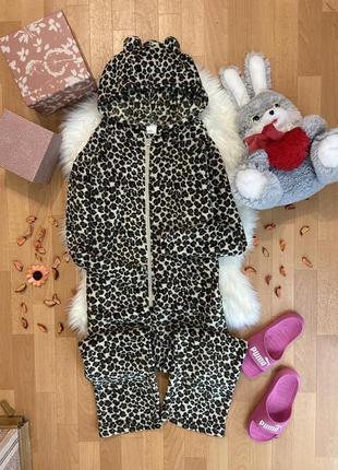 Тёплая флисовая пижама кигуруми №201max