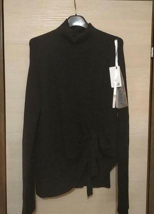 Новый стильный свитер с ангорой италия