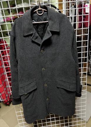 Пальто yves saint laurent wool coat jacket