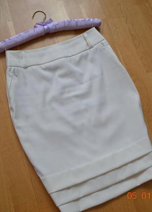 Стильная оригинальная юбка-карандаш