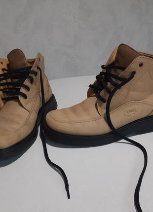 Бомбезные ботинки от camel boots (б/у)