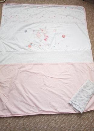 Продам теплое одеялко для малышки mothercare