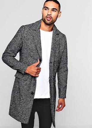 Мега стильное мужское пальто пиджак mex шерсть