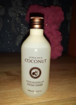 Корейский кокосовый питательный тонер esfolio super-rich coconut toner