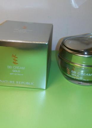 BB cream gold spf 30++, 30г, корея
