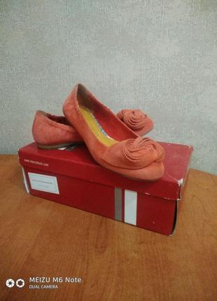 Яркие  туфельки-балетки