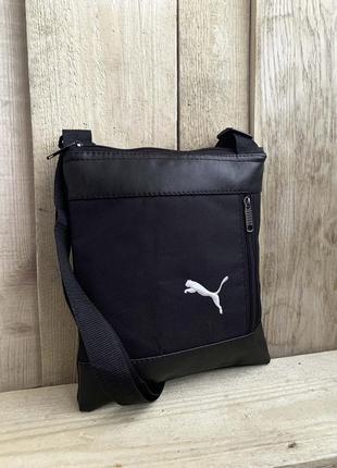 Новая стильная барсетка - сумка через плечо + кожа pu / бананка