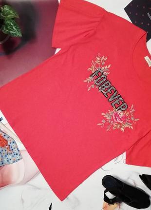 Модная футболка papaya, хлопок, размер 18