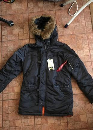 Куртка alpha industries n3-b