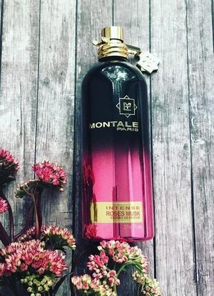 Intense roses musk montale_original_eau de parfum 5 мл_затест