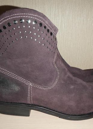 Кожаные ботинки cable р.40-41