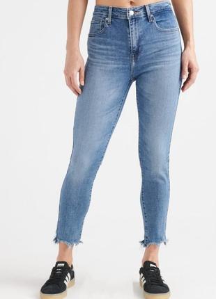 Levi's джинсы 721 high-rise skinny ankle