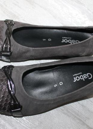 Фирменные туфельки немецкого бренда gabor