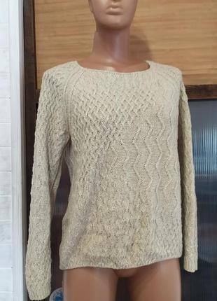 Красивый свитер на молнии