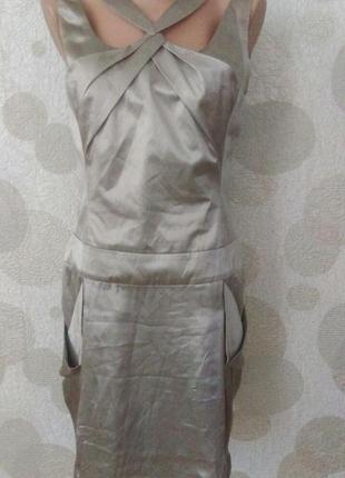 Шелковое платье  известного бренда