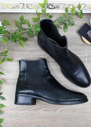 🌿37🌿европа🇪🇺 кожа. стильные ботинки, челси