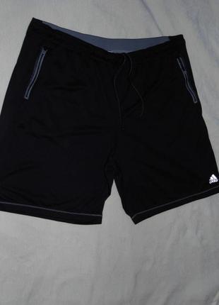 Спортивные шорты батал - adidas 2 xl - сток - наш 58 /60 размер