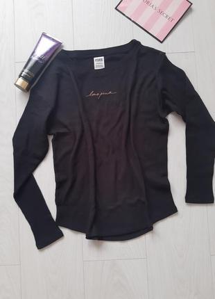 Кофточка футболка victoria's secret 💖 pink 💕 xs
