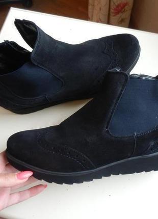 Замшевые ботинки ara 7р 27см