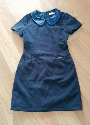 Платье сарафан школьное