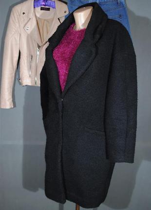 Трендовое пальто-кокон из модных луков atmoshere размер uk10 (s/m) бойфренд2
