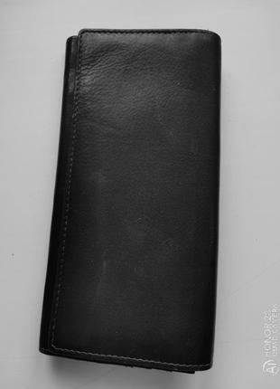 Большой кожаный кошелёк golunski