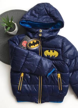 Демисезонная куртка с бэтменом
