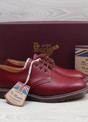 Новые кожаные туфли dr. martens england оригинал