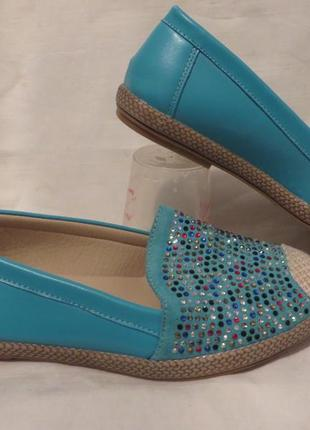 Туфли мокасины балетки 37 размер