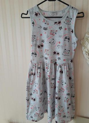 Платье сарафан ,р.140-146 см