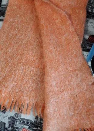 Махеровый шарф