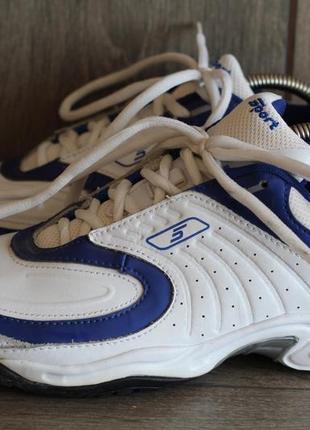 Форменные кроссы sport натуральная кожа