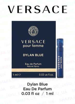 Пробник парфюма versace dylan blue
