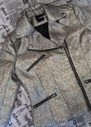 Cтильна куртка піджак косуха від бренду asos