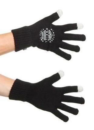 Фирменные теплые сенсорные для смартфона перчатки тач скрин