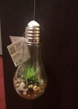 Декоративна лампа з підсвіткою